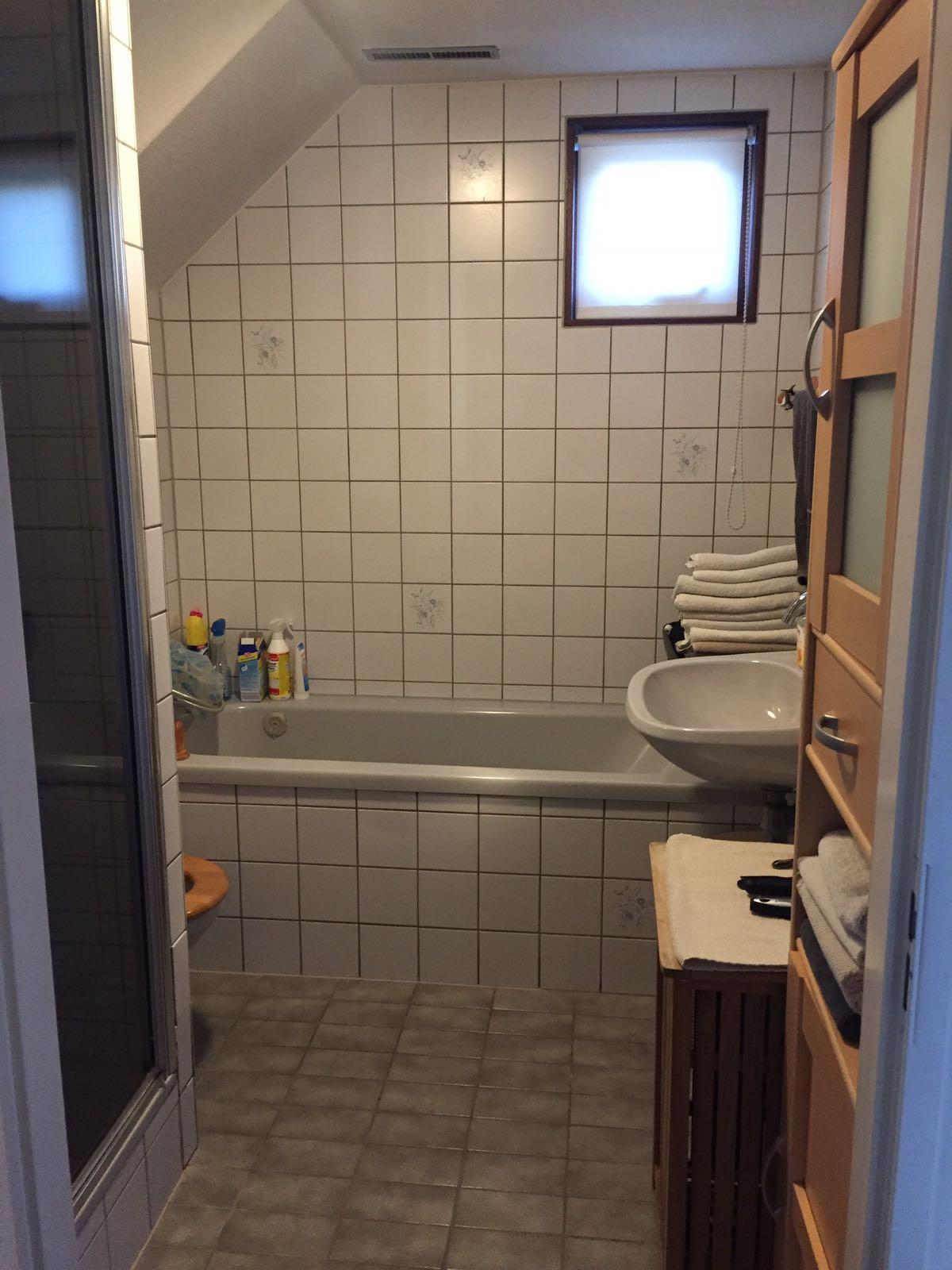 Nieuwe badkamer Velserbroek - Velserklus